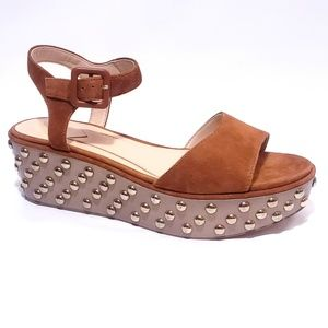 Brian Atwood Franki Studded Platform Sandals